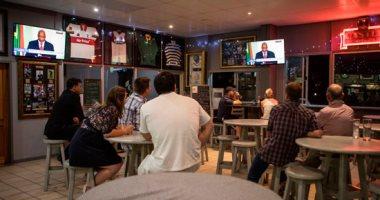 صور.. لحظة استقالة رئيس جنوب أفريقيا جاكوب زوما