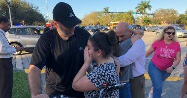 صور.. اللحظات الأولى بعد مقتل 3 أشخاص فى حادث إطلاق نار بأمريكا