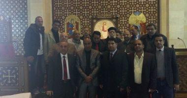 21 من مقدمي البرامج التعليمية يزورون كنيسه العذراء بكفر الشيخ -