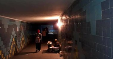 قارئ يشكو الإهمال والظلام فى نفق الشبان المسلمين بالإسكندرية
