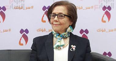 مايا مرسى ترسل برقية للمناضلة الجزائرية جميلة بوحيرد للاطمئنان على صحتها