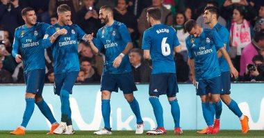 أبرز أرقام ريال مدريد من مواجهة ريال بيتيس فى الدورى الإسبانى