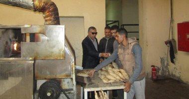 ضبط 27 مخبزا لإنتاجهم الخبز ناقص الوزن وغير مطابق للمواصفات بالبحيرة