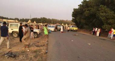 وفاة 4 متسابقين بنادى اليرموك بسبب حادث سير -