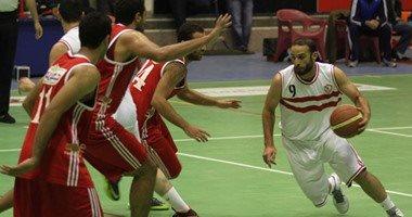 فوز الزمالك والأهلي بدورى السلة