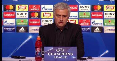 مورينيو: خروجنا محبط من أبطال أوروبا.. لكن هذه هى كرة القدم