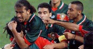 منتخب المغرب فى مونديال 1998