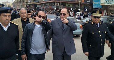 صور.. حملة مكبرة بمدينة 6 أكتوبر لإزالة الإشغالات والمخالفات