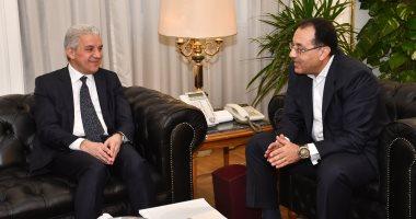 وزير الإسكان يلتقى رجل الأعمال صادق السويدى لبحث فرص الاستثمار بالمدن الجديدة