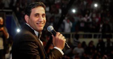 """أحمد شيبة يهنئ الشرطة فى عيدهم بأغنية """"رهن إشارتك"""""""