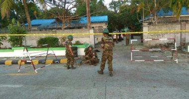 ننشر صور أثار 3 تفجيرات فى ولاية راخين بميانمار -