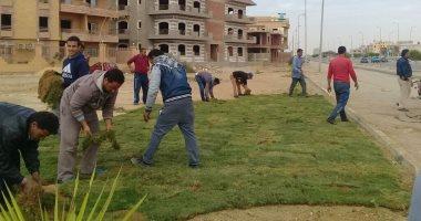 حملة تطوير جديدة لزراعة 2500 نخلة فى مداخل ومخارج وميادين مدينة الشروق