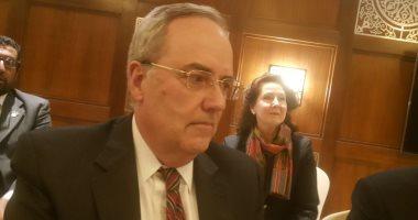 توماس جولد برجر القائم بأعمال السفير الأمريكى فى القاهرة