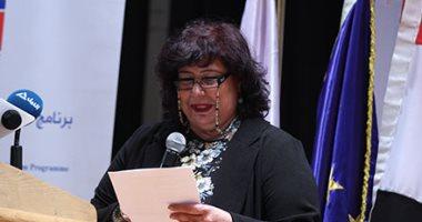 وزيرة الثقافة: تطوير مجال التعليم المهنى يُعيد القطاع الفنى لدوره للرائد (صور)