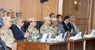 """وكيل """"دفاع"""" البرلمان: وجود الرئيس بسيناء رسالة للعالم والمستثمرين بأن مصر أمنة"""
