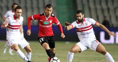 أحمد سمير يتقدم لطلائع الجيش فى الدقيقة 35 أمام الزمالك