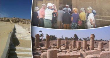 الآثار تنفى سرقة المنطقة الأثرية بتونة الجبل فى محافظة المنيا