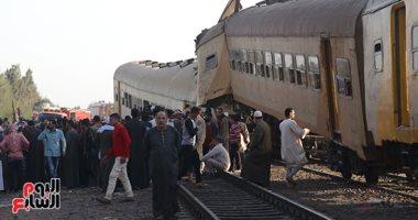 رفع حالة الطوارئ بمستشفيات جامعة طنطا لاستقبال مصابى حادث قطارى البحيرة (صور)