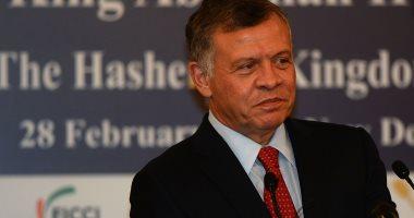 """العاهل الأردنى: """"حل الدولتين"""" السبيل لتحقيق الاستقرار الدائم فى المنطقة"""