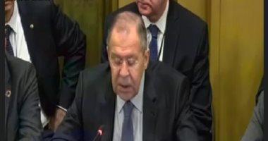 """لافروف: """"اتفاقيات إدلب"""" مؤقتة وهدفها النهائى هو القضاء على الإرهاب فى سوريا"""