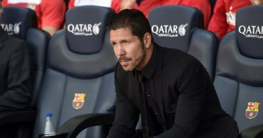 سيميونى عن مباراة برشلونة: الفوز هدفنا فى لقاء التحدى اللطيف