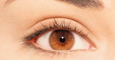 لون عيون عسلي مخضر وتأثير 12