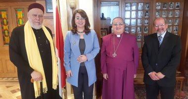 وزيرة التضامن تناقش مبادرة معاً من أجل مصر