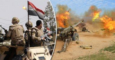 بيان 19 للقوات المسلحة: مقتل 27 تكفيريا فى العملية سيناء 2018