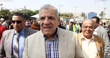 محلب يصل استاد القاهرة للإدلاء بصوته فى انتخابات نقابة المهندسين