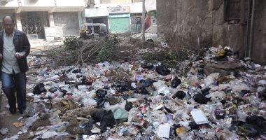 شكوى من انتشار القمامة فى شارع إبراهيم نافع ببولاق الدكرور