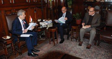 وزير الزراعة يبحث مع السفير البلغارى بالقاهرة سبل التعاون الزراعى بين البلدين