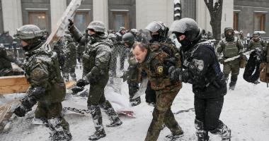 """الشرطة الأوكرانية: انفجار بالقرب من مبنى شركة """"كييف إينيرجو"""""""