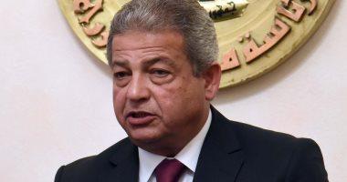 وزيرا الرياضة والإنتاج الحربى يشهدان توقيع عقد إنشاء صالة جمباز بالجزيرة