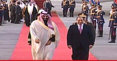 مجلس الوزراء السعودى يرحب بنتائج مباحثات ولى العهد مع مصر