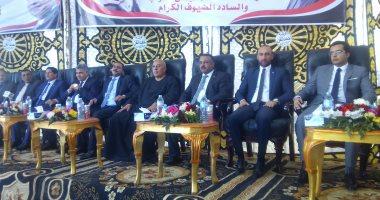 """بعد قليل.. مؤتمر جماهيرى لـ""""مستقبل وطن"""" بمصر الجديدة لدعم الرئيس السيسي"""