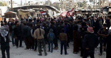 الأمم المتحدة: جميع سكان 3 بلدات فى الغوطة الشرقية بسوريا خرجوا من المنطقة