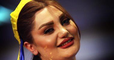صور.. جميلات أربيل فى عرض أزياء للملابس التقليدية لكردستان