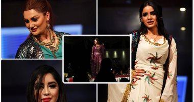 جميلات أربيل فى عرض أزياء للملابس التقليدية لكردستان