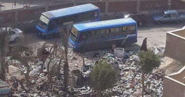 شكوى من تراكم القمامة بمساكن الشروق فى مدينة نصر