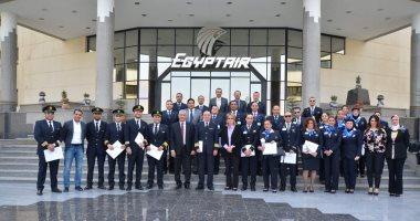 وفد مصر للطيران يغادر إلى مصنع بوينج فى سياتل لتسلم طائرة الثالثة
