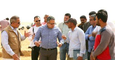 صور.. وزير الآثار يتفقد أعمال حفائر بعثة جامعة القاهرة بمنطقة سقارة