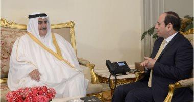 وزير خارجية البحرين: نقلت رسالة من الملك حمد بن عيسى إلى الرئيس السيسى