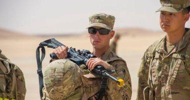 صور.. وصول قوات أمريكية بمعداتها العسكرية للسعودية للمشاركة فى تمرين الصداقة 4