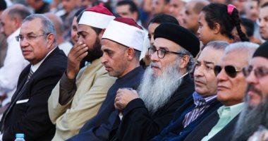 """قس بمؤتمر دعم الرئيس: ندعم السيسي و""""ادخلوا مصر إن شاء الله أمنين"""""""