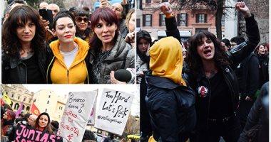 "حركة ""ME TOO"" تنظم تظاهرات ضد التحرش فى إيطاليا"