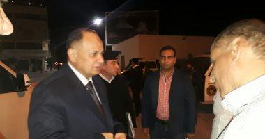 """مدير أمن الجيزة يتفقد المنطقة الأثرية بالهرم خلال حفل أوبرا عايدة """"صور"""""""