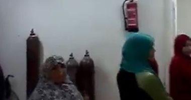 فيديو.. قارئ يشكو عدم وجود أطباء بمستشفى أبشواى المركزى