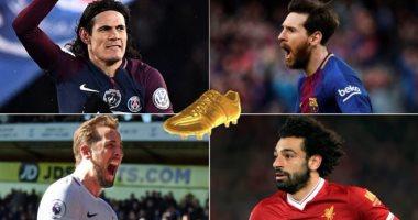 فيفا: 73% من جماهير الكرة يتوقعون حصول محمد صلاح على الحذاء الذهبى