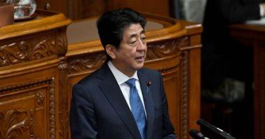 صور.. رئيس الوزراء اليابانى يرحب باللقاء المرتقب بين ترامب وكيم جونج اون