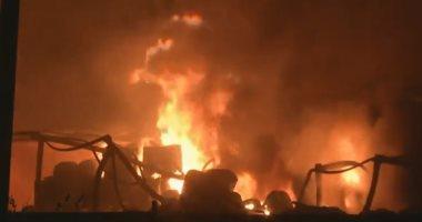 صور.. مصرع 3 أشخاص وإصابة 13 آخرين فى حريق بمصنع للكيماويات غربى الهند